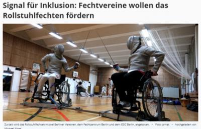 Berliner Woche Signal für Inklusion 2018